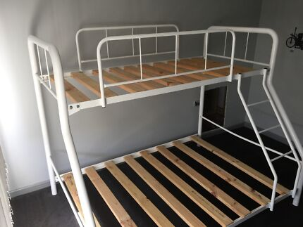 Tubular bunk bed (single and double)