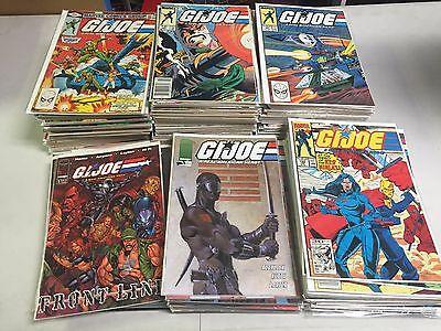 GI JOE REAL AMERICAN HERO MARVEL COMIC LOT from #1-148 and more!