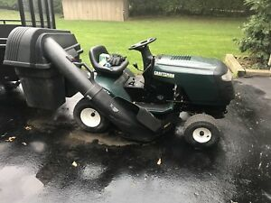 Sears craftsman 14.5hp lawn tractor w bagger $700