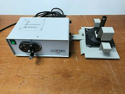 Luxtec Lx300 Fiber Optic Light Source With Pole Mount
