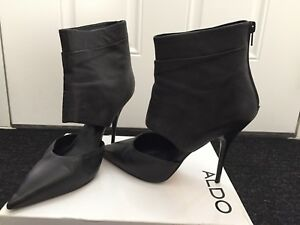Aldo booties size 10 worn once