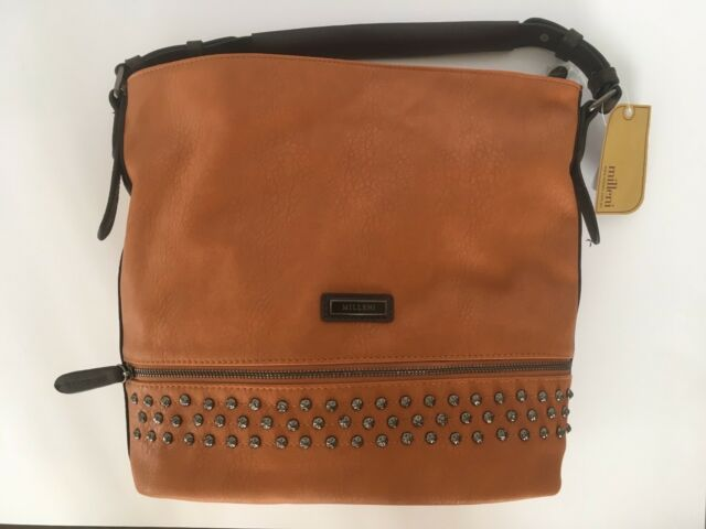 Brand New Large Milleni Tan Leather Lined Zip Top Tote Bag Bags Gumtree Australia Yeppoon Area 1180824387