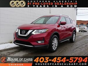 2017 Nissan Rogue SV w/ Panoramic Roof, Backup Camera, Bluetooth