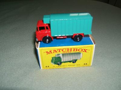 1970 Matchbox refrigerator truck  Original Box #44