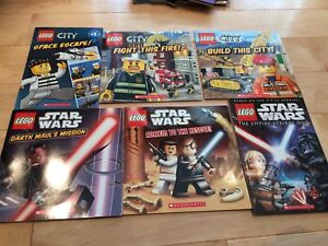 Lego books (city and Star Wars)