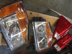 Complete headlight and Taillight Bezels
