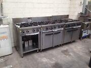 Restaurant Cafe Gas Burners & Ovens commercial  Brunswick Moreland Area Preview