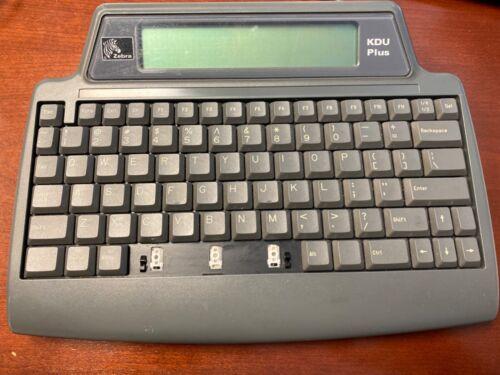 Zebra - KDU Plus Keyboard 120182G-001 missing space bar