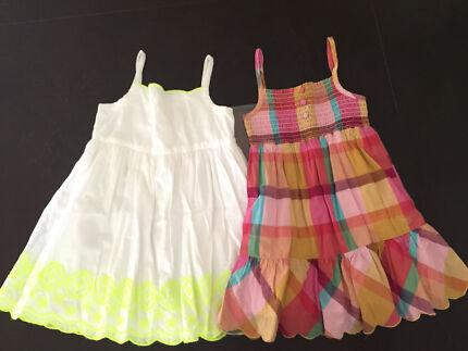 2 summer dresses (Target and Esprit) - size 3