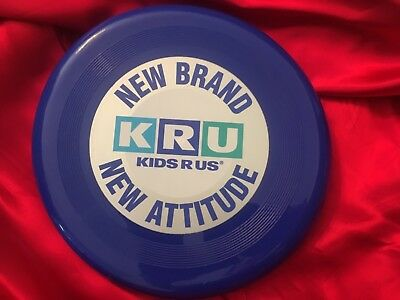 Kids R Us KRU Toys R Us Vintage Frisbee Unused Attitude