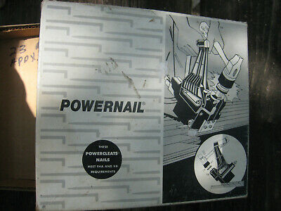 2300 Hardwood Flooring Nails 2-14 Powernails Fit Model 45 101 Nailers Rare