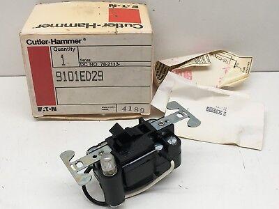 Cutler Hammer 9101ed29 Motor Starter Switch 1 Or 2 Pole 1hp 115-230v