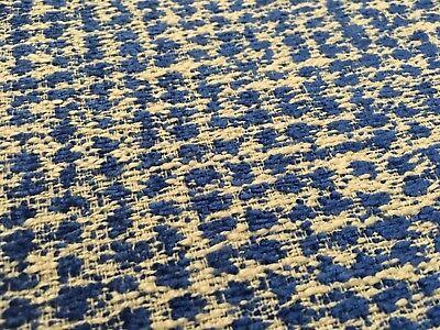 Dot Cotton Chenille Fabric - Designers Guild Dotted Chenille Weave Uphol Fabric Mavone Marine 2 yd FDG2336/16