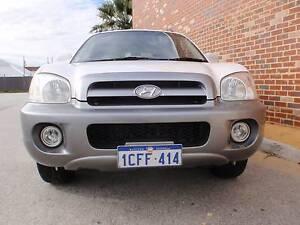 2005 Hyundai Santa Fe GLS 4x4 Wagon Victoria Park Victoria Park Area Preview