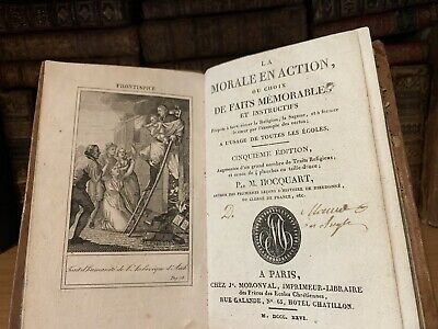 1826 THE MORALE IN ACTION or Selection of Memorable Deeds and Instructions