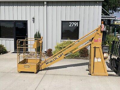 Benju Corp. Man Lift For Fork Lift Tow Motor Model 3000 Ltl-lift