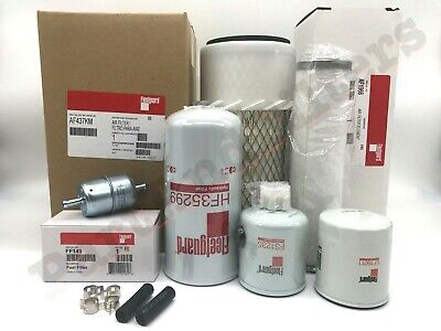 Filter Kit To Fit New Holland Lx465 Lx485 Lx565 Lx665 L465 L565 Ls140 Skid Steer