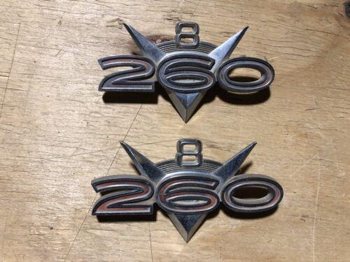 1964 Falcon 260 V8 Emblems