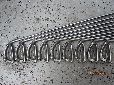 Ping ISI Beryllium Nickel Eisensatz 3-SW, sehr gute Ping Griffe, regular flex.
