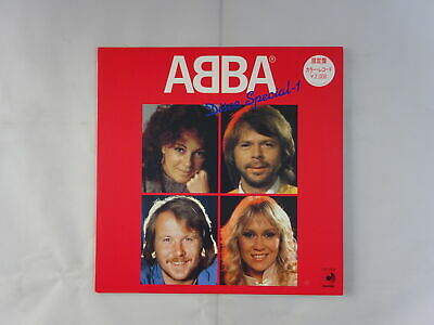 ABBA Disco Special-1 Discomate DSP-3024 Japan RED WAX  LP