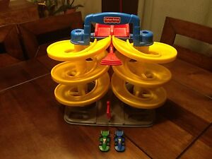Fisher price race car set