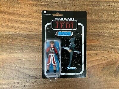 Star Wars TVC The Vintage Collection VC63 B-Wing Pilot Keyan Farlander with case
