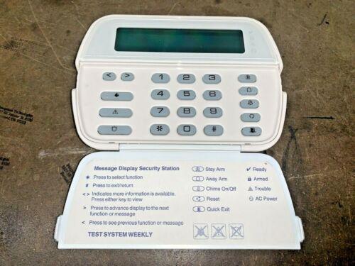 DSC PK5500ENG PowerSeries 64-Zone LCD Full-Message Alarm Keypad