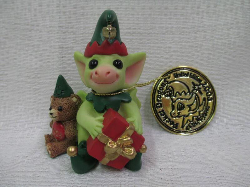 Whimsical World Of Pocket Dragons Santa