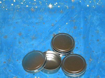 25 round pressure fit top slipcover tin storage box 1 oz #331