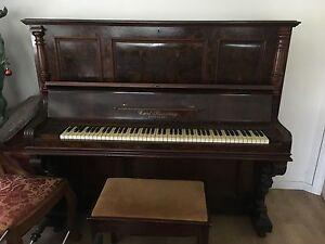 Upright antique piano Umina Beach Gosford Area Preview
