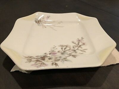 Antique 19th Century Haviland & Co Limoges Napkin Fold Plate 1875-1882 - Napkin Fold