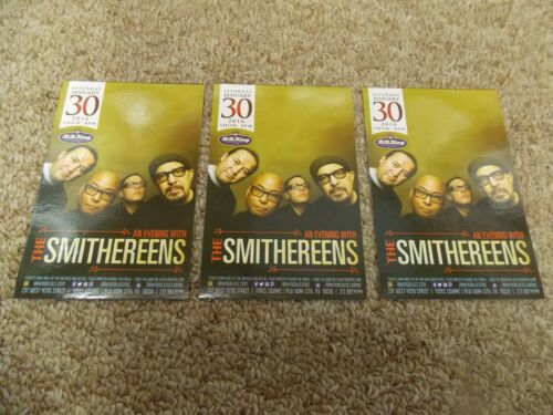 THE SMITHEREENS LOT OF 3 ORIG PROMO POSTCARDS FROM SHOW AT BB KING