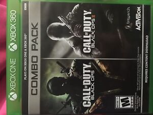 Black ops 1 and 2 Xbox one combo addition