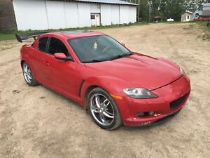 Mazda rx8 with new engine