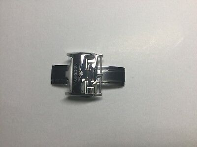 NEW GENUINE LONGINES 18MM DEPLOYMENT CLASP BUCKLE STAINLESS STEEL L639119706K