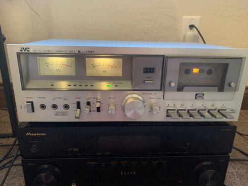 Vintage JVC Casette Tape Deck KD-55 Super ANSR TESTED Excellent Condition!