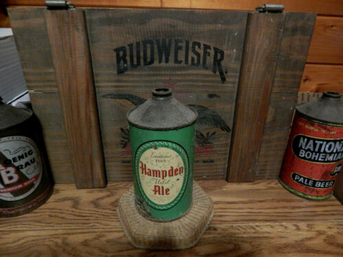 SCARCE  (c.1947)  HAMPDEN  ALE  * IRTP* QUART  CONE TOP BEER CAN (USBC#211-14)MA