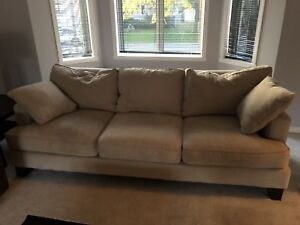 Microfibre Couches from Mobilia (beige)