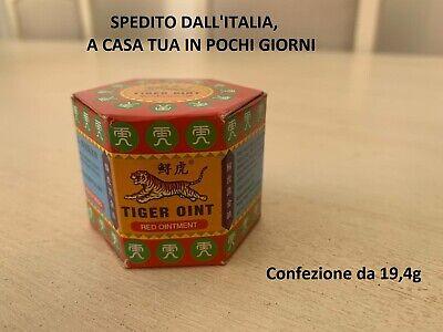 Balsamo di Tigre Rosso Originale Forte 19,4 g (in Italia) tiger balm strong