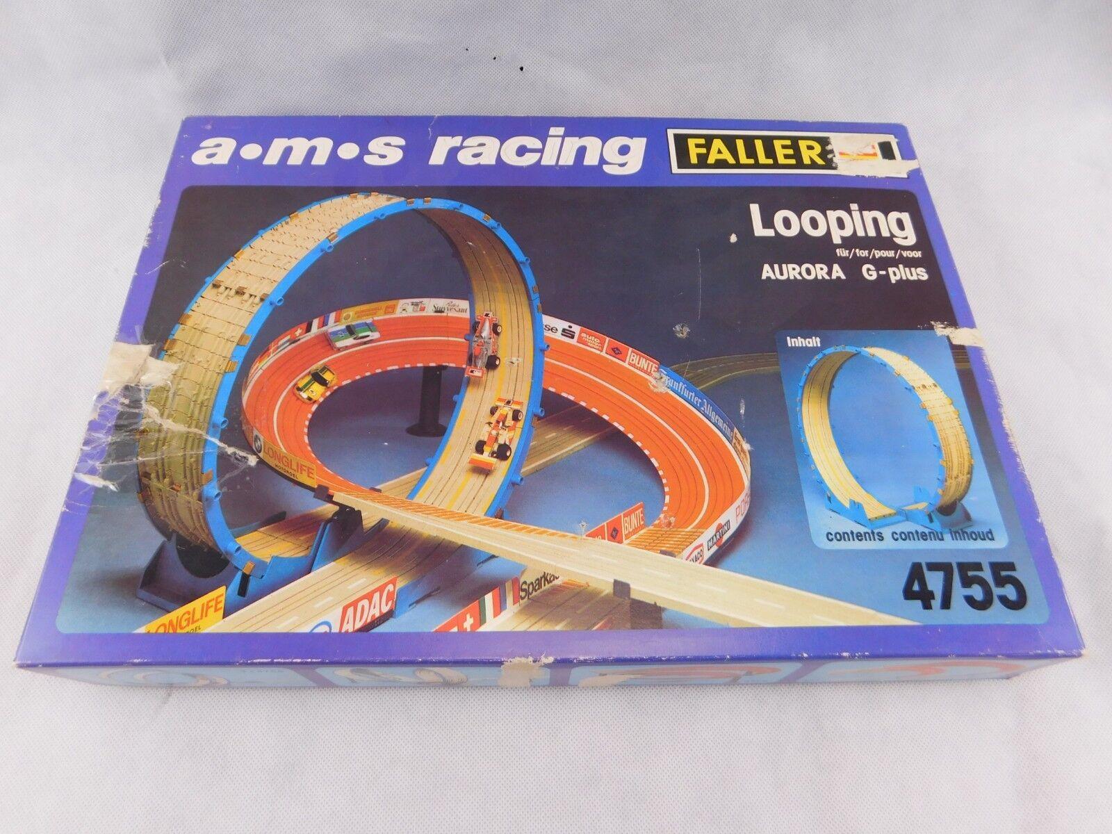 FALLER Looping 4755 ams Auto Motor Sport Racing für Aurora G-plus H0 1:87 OVP.