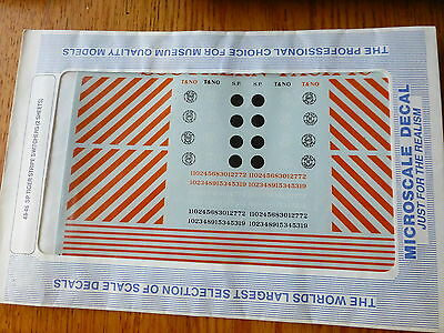 Microscale Decal O #48-46 Southern Pacific Diesel Switchers (1948-1958)