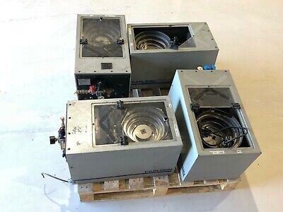 Carlson Engineering C-50 Vibratory Bowl Screw Feeder Sorters Lot Of 4 Machines