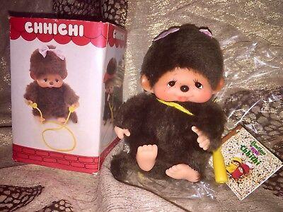 Sekiguchi MONCHHICHI Figur Mädchen CHHICHI Monchichi OVP *Rarität* #z092