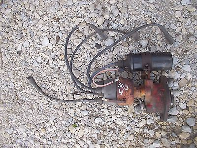 International 300 350 Utility Tractor Ih Distributor Drive Assembly Wires Coil