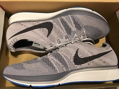 New Men's Nike Flyknit Trainer Running Shoes AH8396-006 sz 9 atmosphere Grey (Nike Trainer Shoes)