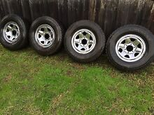 Toyota Land Cruiser 4x4 tyres and rims Dingley Village Kingston Area Preview