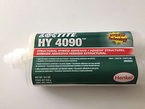 LOCTITE HY 4090 STRUCTURAL HYBRID ADHESIVE by Henkel 400g