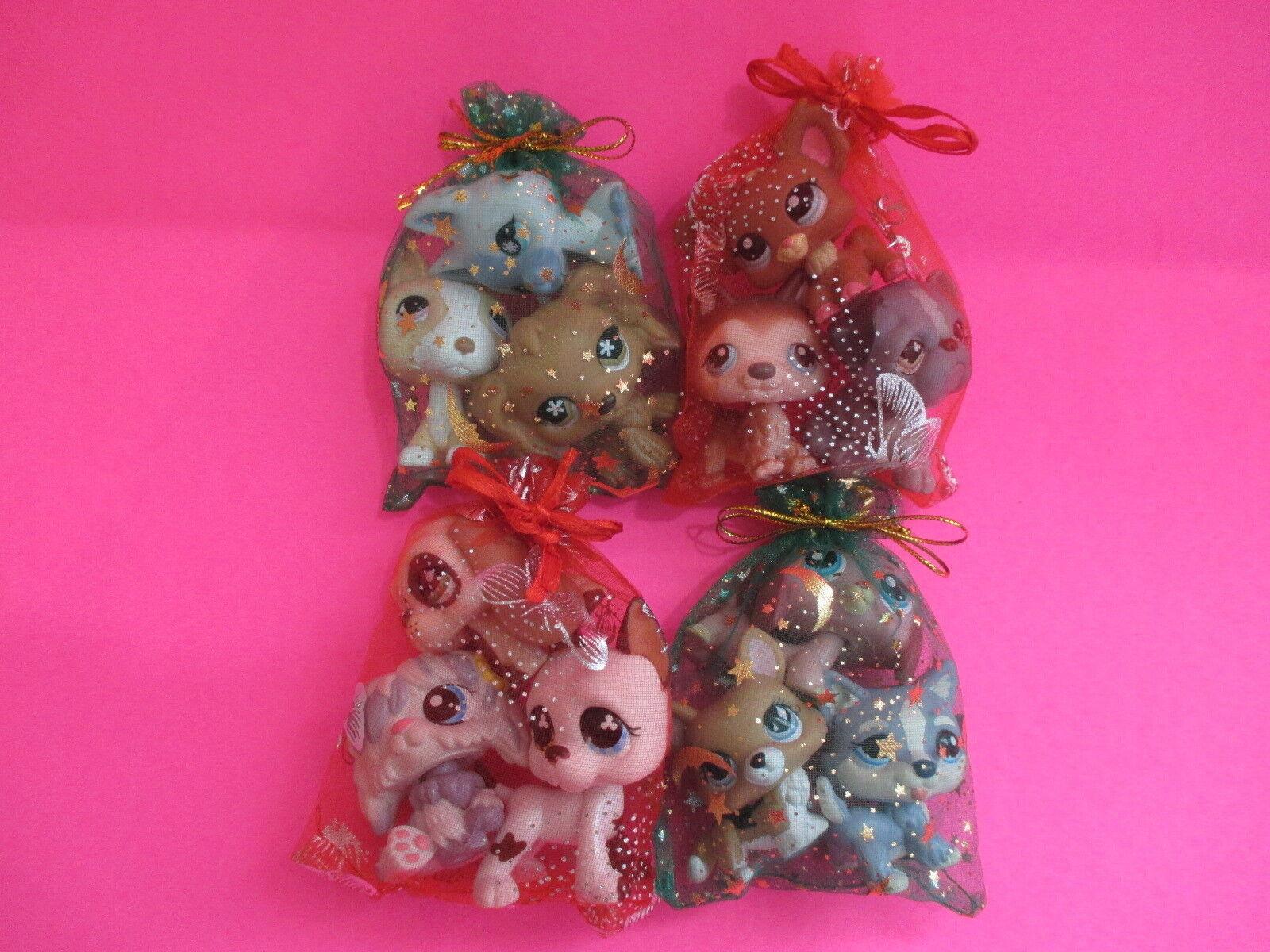 Купить Littlest Pet Shop LOT of 3 RANDOM Surprise Puppy Dogs! 100% Authentic
