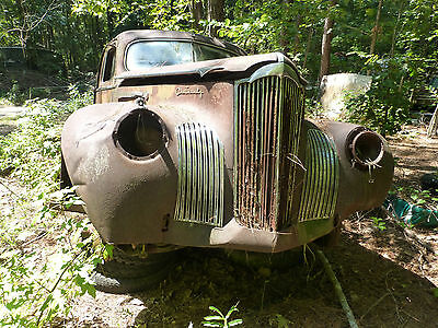 1941 Packard One Twenty 120 Sedan Parts Car VERY RARE Even Like this *NO TITLE*
