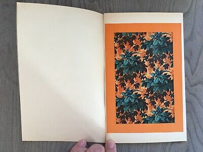 Catalogue Booklet the Paper Painted and the Pattern Home 1929 René Chavance